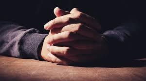Moment van gebed en bezinning