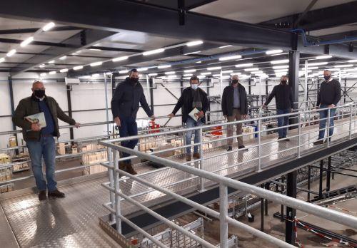 PCW-fractie bezoekt glastuinbouwbedrijven